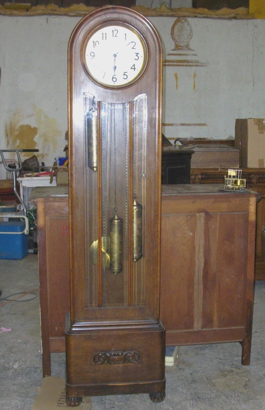 horloge de parquet pendule comtoise art nouveau showroom didoulabrocante. Black Bedroom Furniture Sets. Home Design Ideas