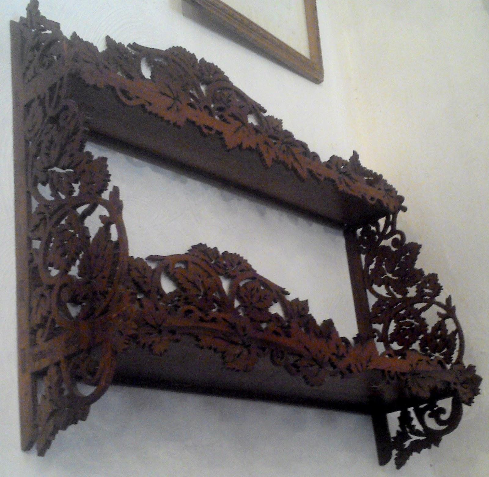 sculpté marqueterie foret ancienne étagère bois noire EH9YeWID2